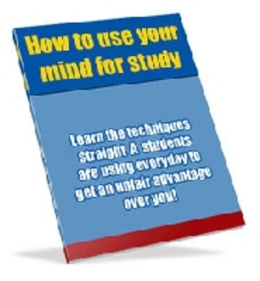 Product picture Students HOW to USE Your MIND to STUDY ebook