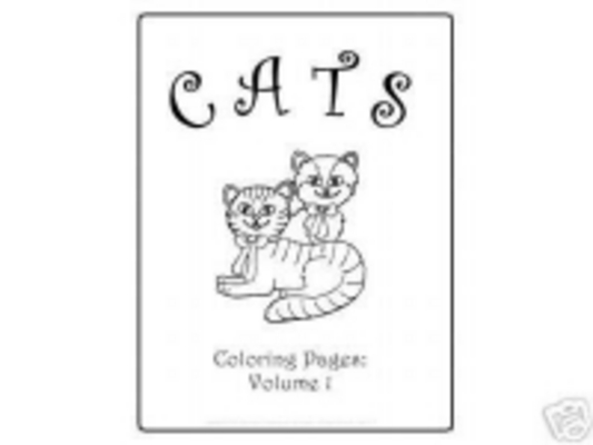 Product picture CATS COLOURING VOL 1 E-BOOK