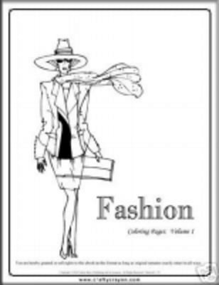Product picture THE FASHION COLOURING E-BOOK VOL 2