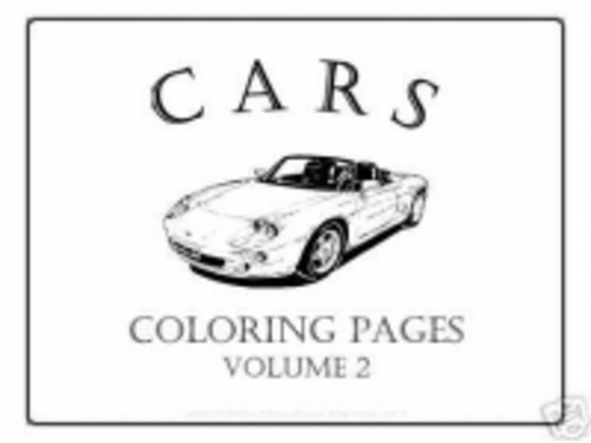 Product picture THE CARS COLOURING E-BOOK VOL 2