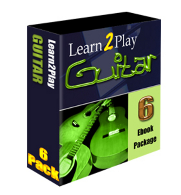 Product picture LEARN TO PLAY THE GUITAR 6 EBOOKS