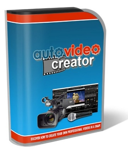 Product picture Auto Video Creator Software Resell rights